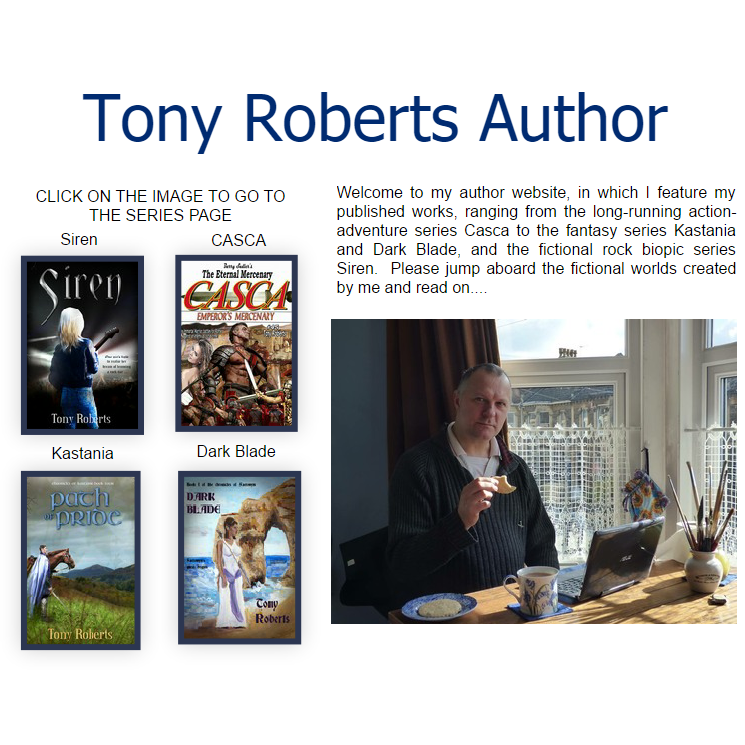 Tony Roberts Website